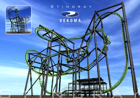 Vekoma Stingray - Coming to Mt. Olympus?