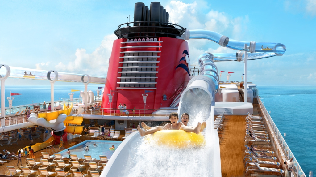 AquaDuck Water Coaster on Disney Dream