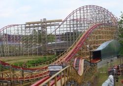 Texas Giant at Six Flags Over Texas
