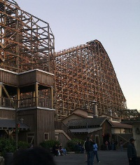Ghostrider at Knotts Berry Farm