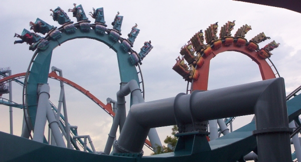 Dragons Challenge - Formerly Dueling Dragons - Islands of Adventure - Universal Orlando