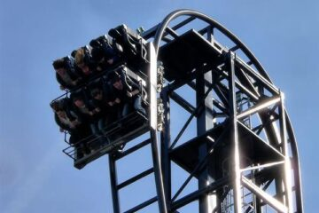 Saw - The Ride at Thorpe Park