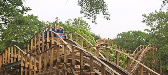 Wooden Warrior at Quassy