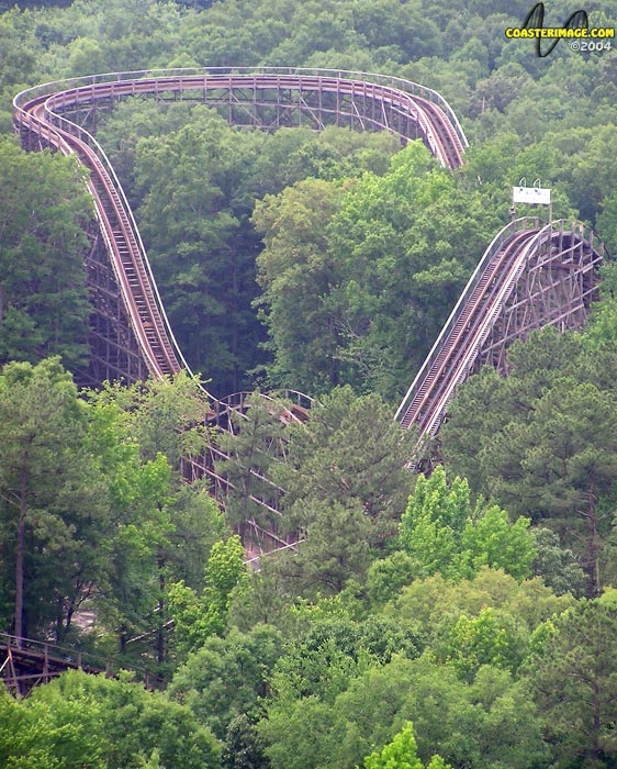 Grizzly at Kings Dominion - Roller Coaster Reviews