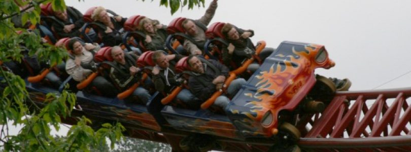 Rita Roller Coasters at Alton Towers