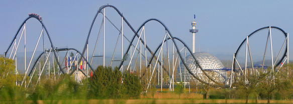 Silver Star Roller Coaster at Europa Park