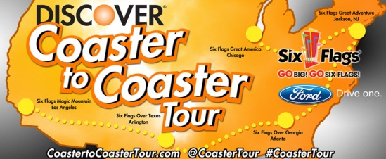 Discover - Six Flags - Coaster to Coaster Tour