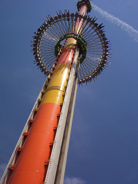 Drop Zone at Kings Dominion