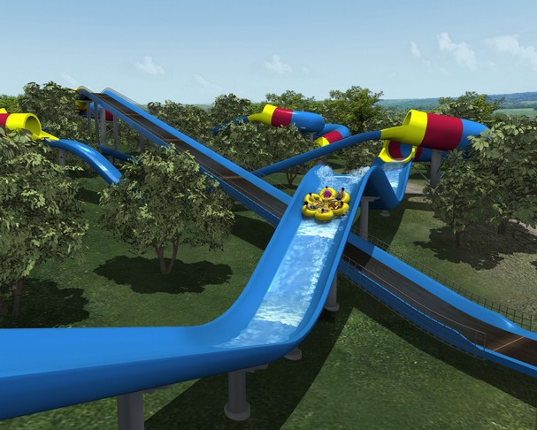 Mammoth Water Coaster Coming to Holiday World in 2012