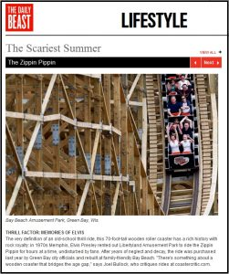 Scariest Summer - Newsweek - The Coaster Critic Quote