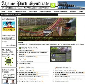 Theme Park Syndicate - Theme Park News Aggregator