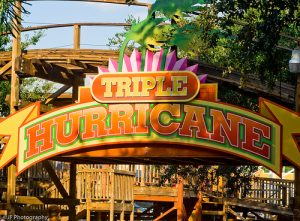 Triple Hurricane - Cypress Gardens, Now Coastersaurus at Legoland Florida