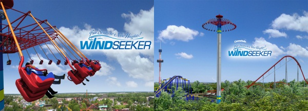 Windseeker at Carowinds - New Ride 2012