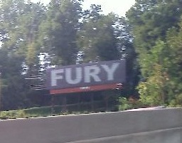 Fury Billboards Popping Up Around Charlotte