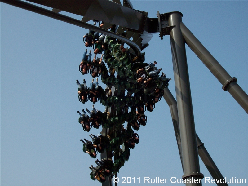 Raptor at Gardaland - Wing Rider Coaster