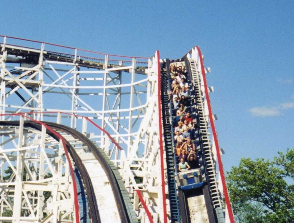 Thunderbolt - Kennywood - Wooden Roller Coaster