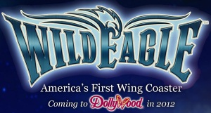 Wild Eagle - Dollywood 2012 Wing Coaster - Logo
