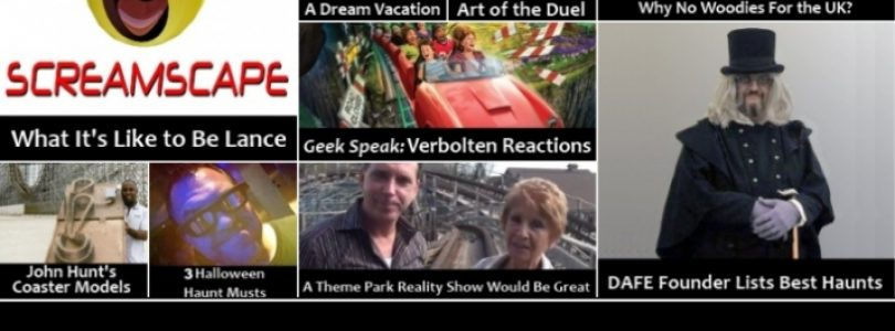 Theme Park Geekly Launches with Lance from Screamscape & the Best Halloween Haunts