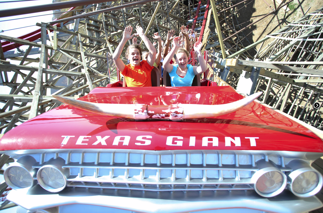 New Texas Giant - Six Flags Over Texas
