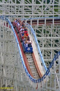 Great American Scream Machine - Six Flags Over Georgia