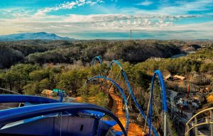 Wild Eagle Lift Hill - Dollywood
