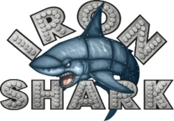 Iron Shark Logo - Pleasure Pier