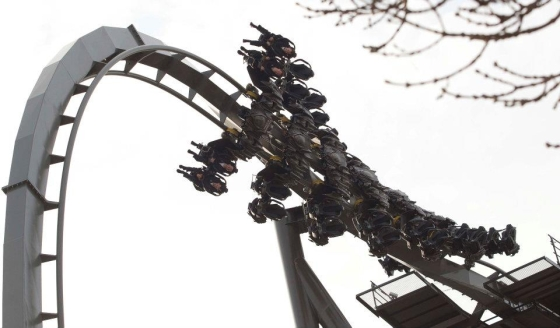 Thorpe Park - The Swarm Roller Coaster 2