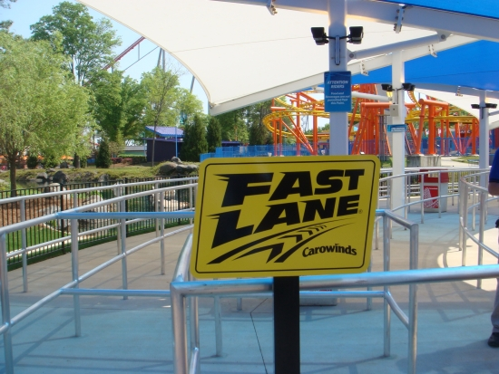 WindSeeker - Carowinds - Fast Lane