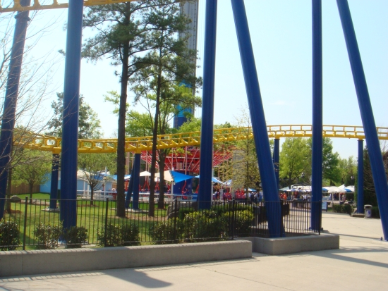 WindSeeker - Carowinds Just Past Nighthawk