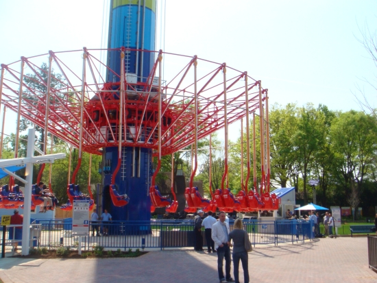 WindSeeker - Carowinds - Returning to Ground