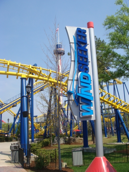 WindSeeker - Carowinds Sign
