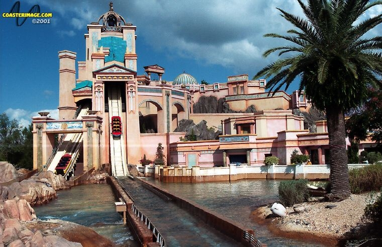 Journey to Atlantis - SeaWorld Orlando