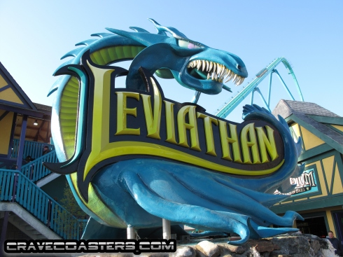 Leviathan Sign - Canadas Wonderland