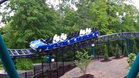 Verbolten - Busch Gardens Williamsburg - Test Video