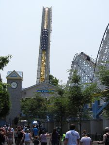 Skyrush - Hersheypark - Lift Hill