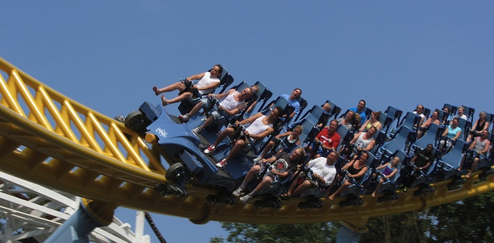 Skyrush Review - Hersheypark