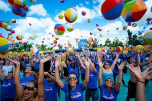 Legoland Florida Water Park - Beach Ball Record