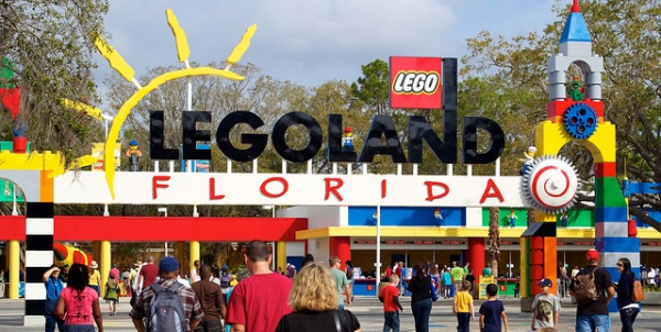 Legoland Florida - Entrance