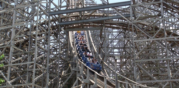 Rampage Roller Coaster - Alabama Adventure