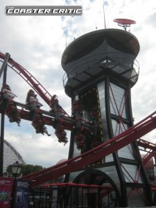 X-Flight Roller Coaster - Flight Tower