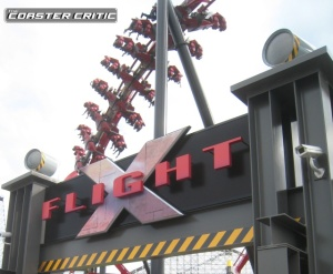 X-Flight Sign and Coaster