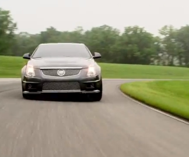 Cadillac CTS-V - Cornering Forces - G-Meter