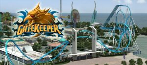 Cedar Point - Gatekeeper - 2013 Wing Roller Coaster