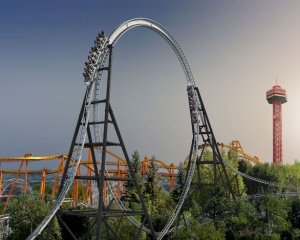 Full Throttle - Six Flags Magic Mountain - 2013 Roller Coaster