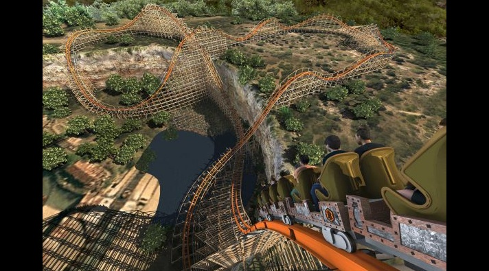 Iron Rattler - Six Flags Fiesta Texas - Top Roller Coasters