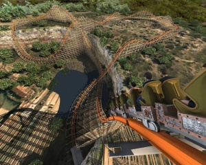 Iron Rattler - Six Flags Fiesta Texas