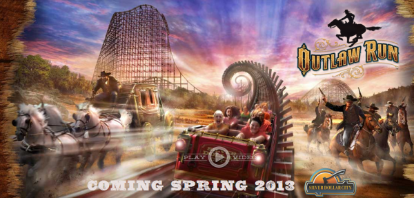Outlaw Run - Silver Dollar City 2013