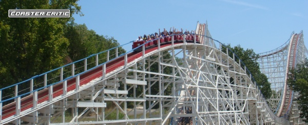 Six Flags St Louis - Screamin Eagle - Second Hill