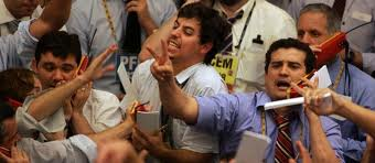 Stock Market Floor - Traders
