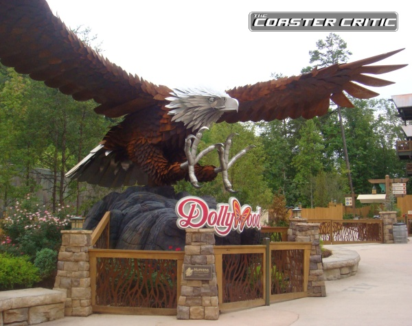 Wild Eagle - Statue - Dollywood